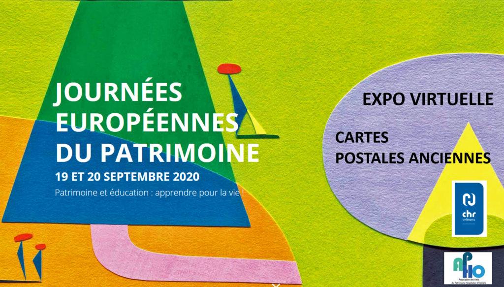 Exposition virtuelle de cartes postales anciennes/JEP 2020