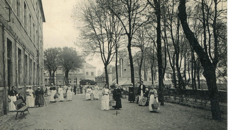 Cour Sainte-Catherine/Entre Hôpital Général et Quartier des aliénés