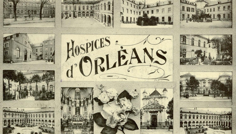 Carte multivues des Hospices Civils d'Orléans