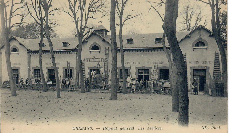 Hôpital Général : Les ateliers/À l'emplacement de l'ancien bâtiment de pneumologie