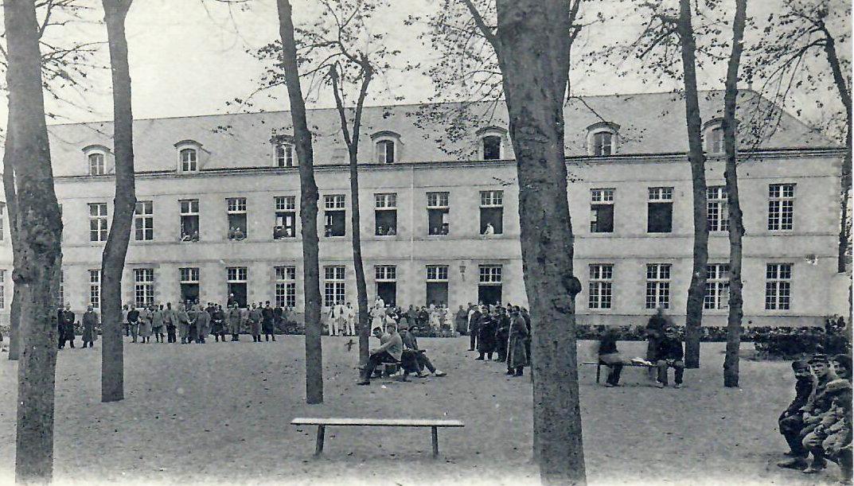 Façade nord du Pavillon Sabatieraffecté aux aliénés dénommé également 7ème division.