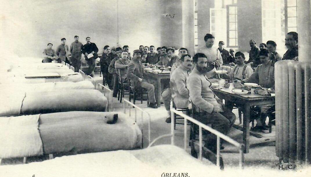 Pavillon Sabatier : En 1913, les militaires prirent possession des lieux jusqu'en 1968