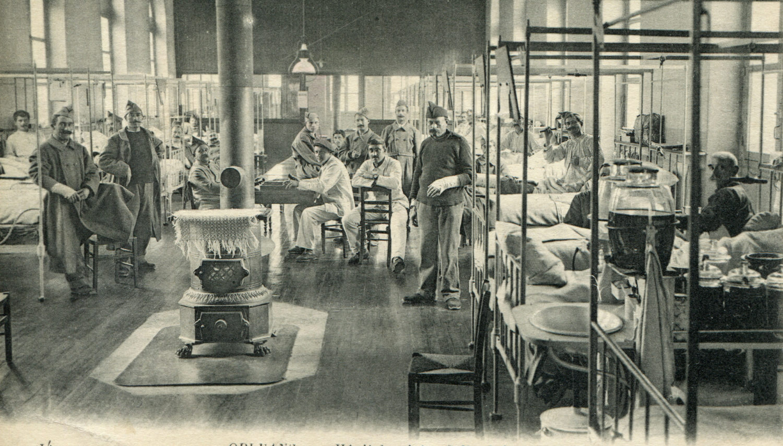 Hôtel-Dieu : Salle Sainte Claire/Médecine femmes puis prématurés et réanimation néonatale jusqu'en 1995