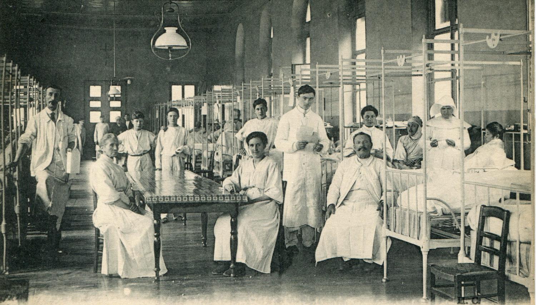 Salle Saint-Lazare/Chirurgie hommes puis enfants/Consultations gériatrie jusqu'en 2013