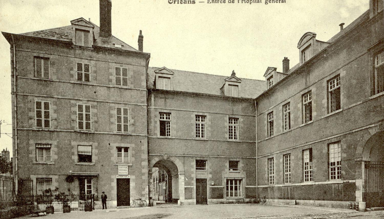 L'entrée de l'Hôpital Général dont la construction a débuté en 1675