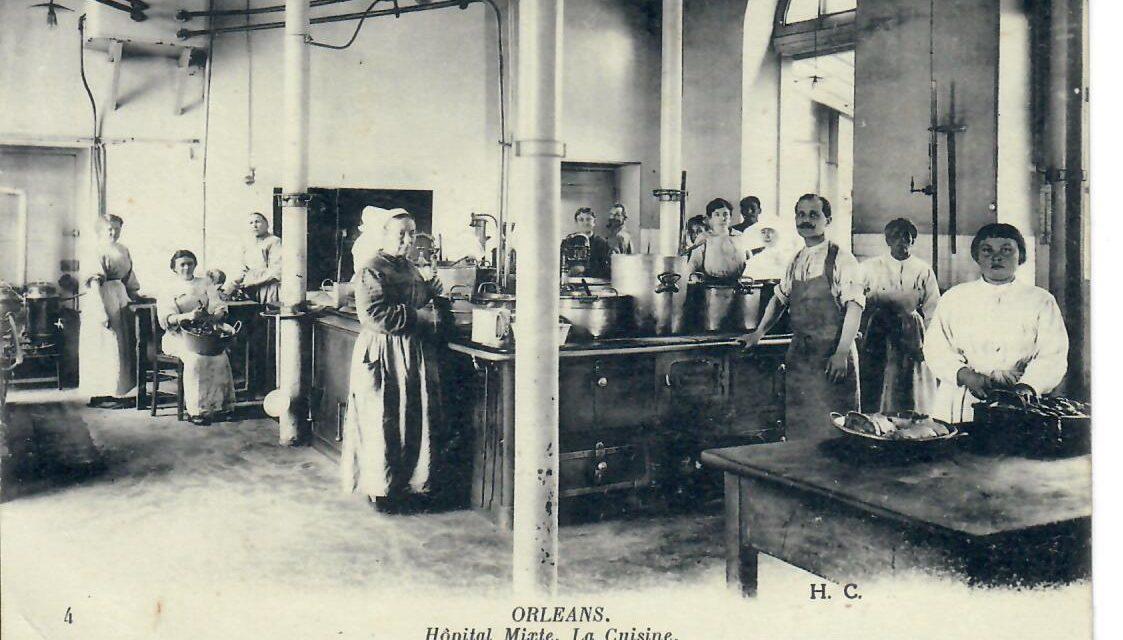 Les cuisines/Hôpital mixte (civil et militaire)