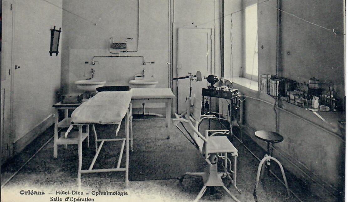 Hôtel-Dieu : L'ophtalmologie/La plus ancienne des spécialités/Date de la fin du XIXe siècle