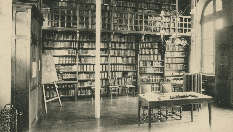 Hôtel-Dieu : L'ancienne Bibliothèque médicale, par la suite Médecine Interne