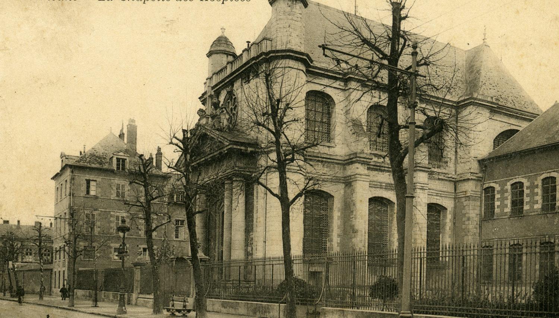 La Chapelle Saint-Charles, construite en deux fois/1717-1864